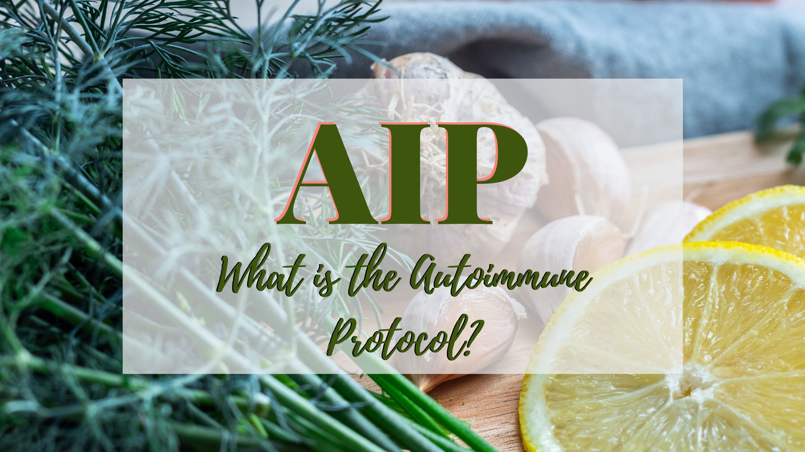 IS PALEO AIP RIGHT FOR YOU?