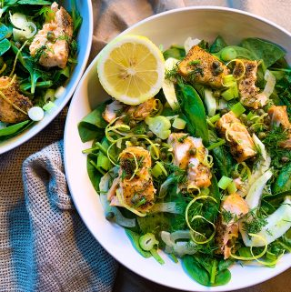 Salmon and Fennel Salad