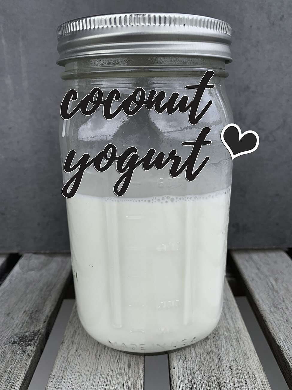 Instant Pot Coconut Yogurt