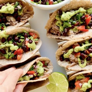 Ready INSTANT POT TACOS DE CARNITAS
