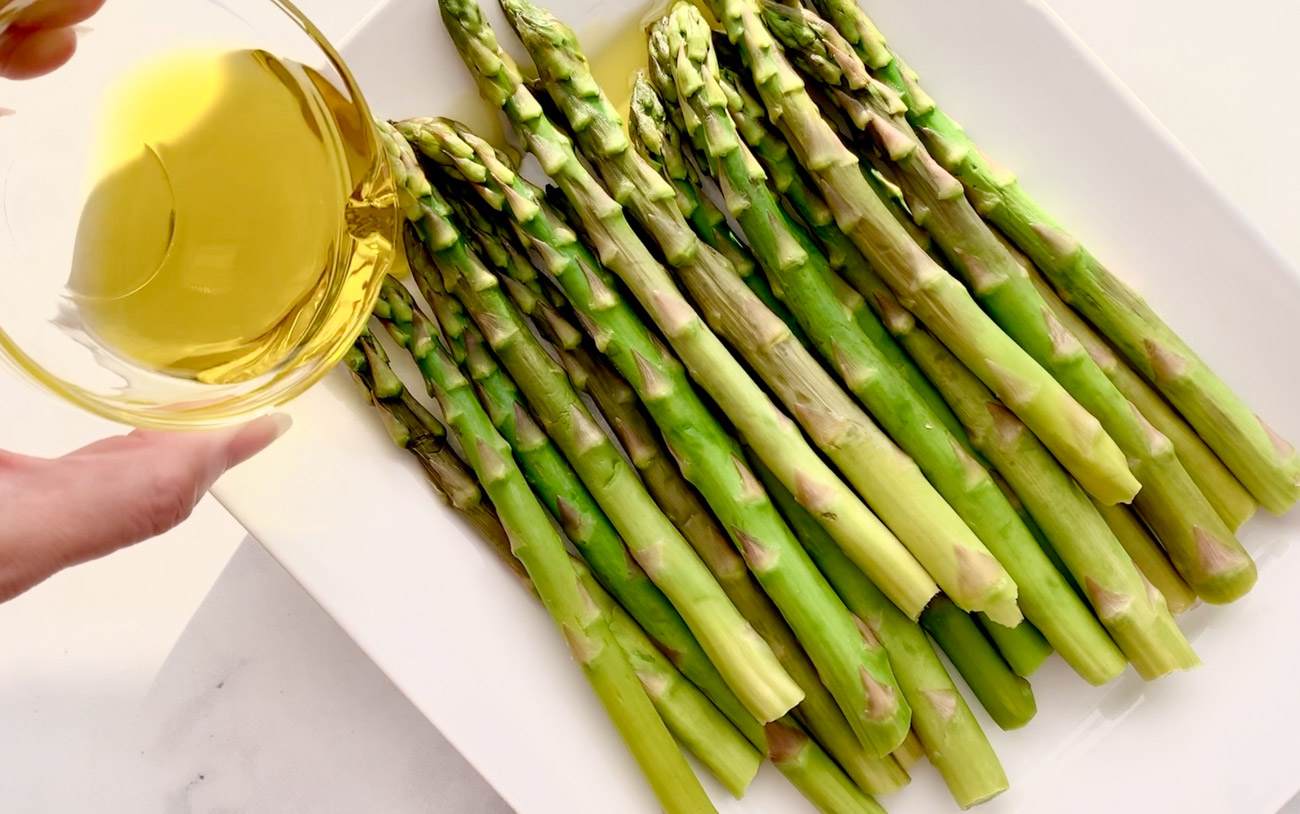 Olive Oil and Asparagus