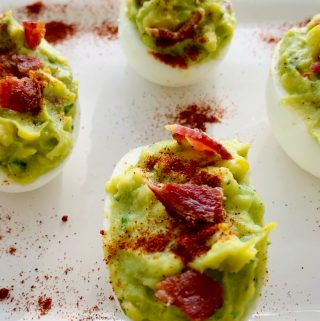 Deviled Eggs with Avocado