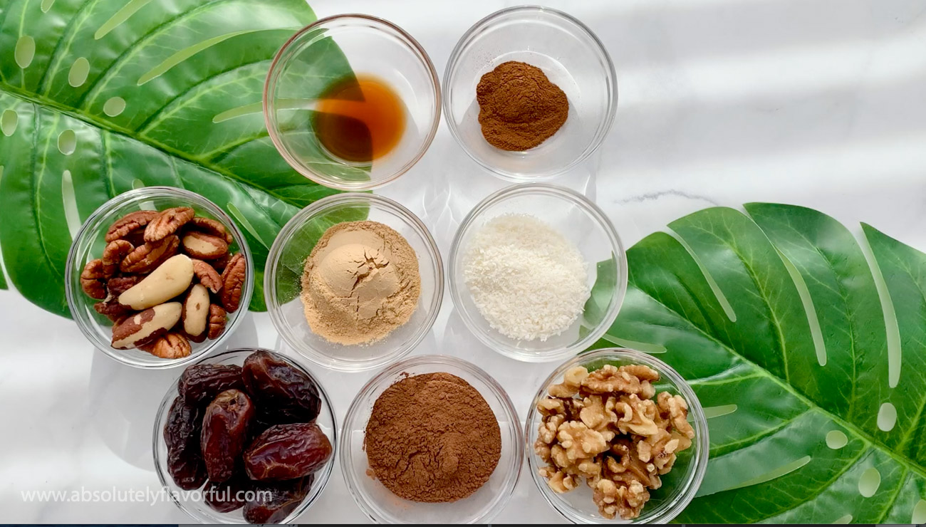 Maca Balls Ingredients