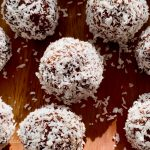 Maca Balls covered with shredded coconut
