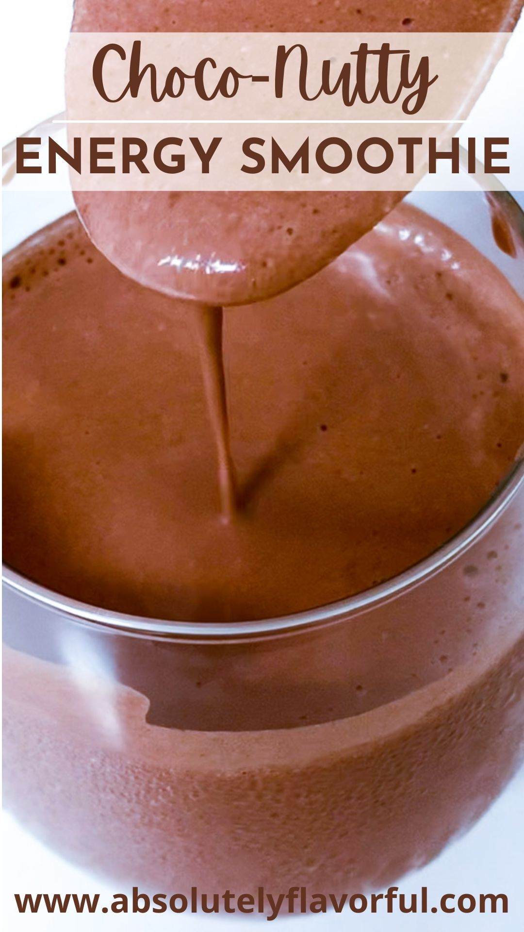 Choco Nutty Energy Smoothie Pin